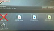 Rechtstreeks scannen naar MeXtra via 'multifunctional' Driestroom vervalt!